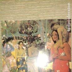 Arte: LITOGRAFÍA GAUGUIN, LÁMINA DE ARTE, COLECCIÓN LITOGRAFÍAS (CON TUBO PORTADOR). Lote 153729738