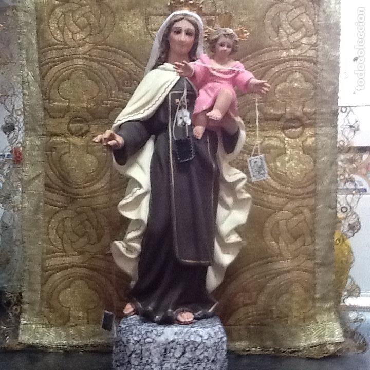 IMAGEN VIRGEN DEL CARMEN DE OLOT (Arte - Arte Religioso - Escultura)