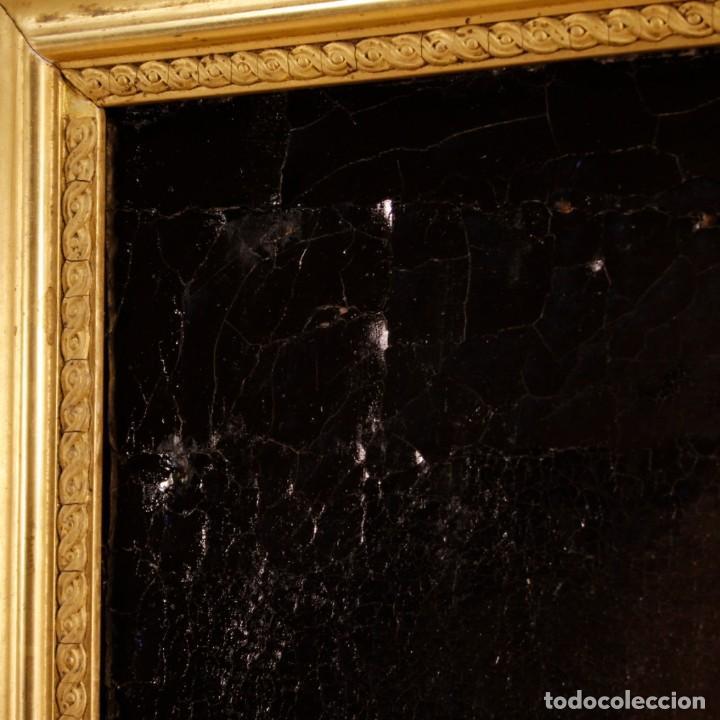 Arte: Antigua pintura religiosa española san francisco del siglo XVIII. - Foto 8 - 153958058