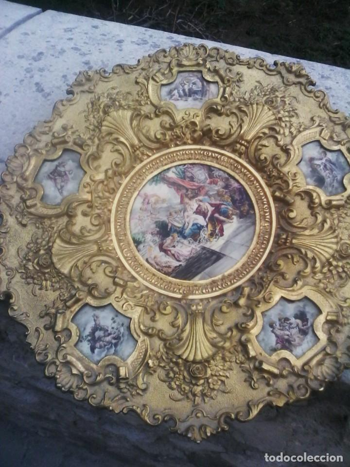 ORNAMENTO - SERAFINES - QUERUBINES . (Arte - Arte Religioso - Pintura Religiosa - Otros)