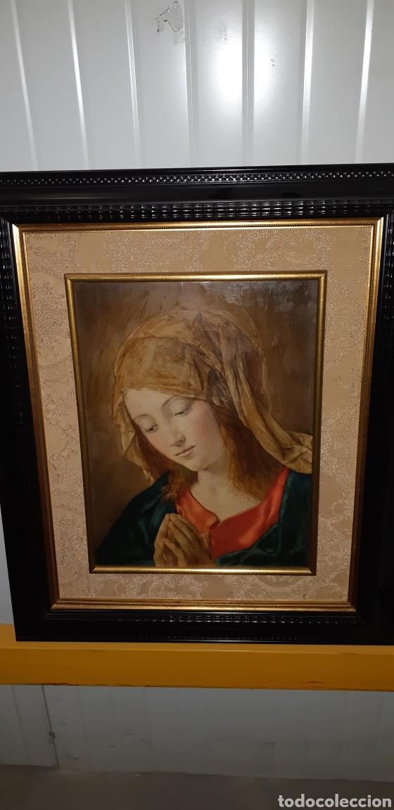CUADRO RELIGIOSO REPRESENTATIVO DE LA VIRGEN (Arte - Arte Religioso - Pintura Religiosa - Otros)