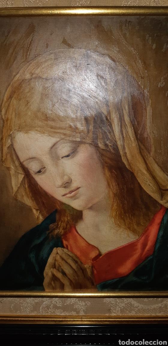 Arte: Cuadro Religioso representativo de la Virgen - Foto 2 - 154215374