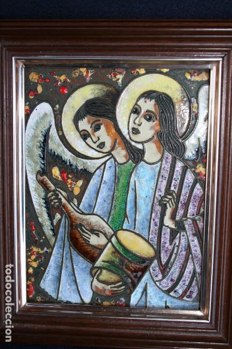 Arte: BONITO ESMALTE DE TEMA RELIGIOSO - Foto 2 - 154271646