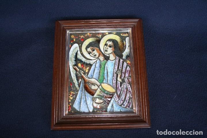 Arte: BONITO ESMALTE DE TEMA RELIGIOSO - Foto 4 - 154271646