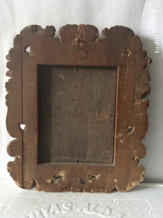 Arte: SAN MARTÍN DE TOURS ,SIGLO XVIII.ÓLEO SOBRE TABLA CON MARCO DE ÉPOCA.IDEAL COLECCIONISTAS - Foto 12 - 154293898