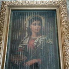 Arte: TRIPTICO MARÍA, ANGELES ÁNGELES Y NIÑOS. Lote 154303466