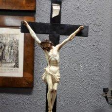 Arte: CRUCIFIJO DEL SIGLO XVII. Lote 152054294