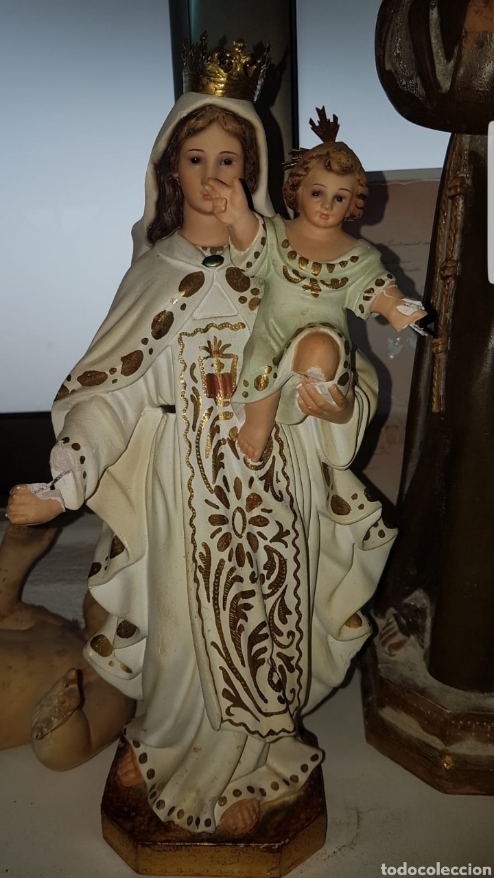 VIRGEN DEL CARMEN (Arte - Arte Religioso - Escultura)