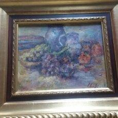 Arte: GRAN BODEGON IMPRESIONISTA(GRAN CALIDAD). Lote 154580450