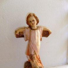 Arte: NIÑO JESUS EN LA CRUZ - SELLO - EL SANTO CRISTO OLOT GERONA.VER DESCRIPCION.. Lote 154735446