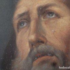 Arte: CHARITAS BÓNITAS. S. FRANCISCO DE PAULA. ÓLEO SOBRE LÁMINA DE METAL. 41 X 31 CM. SIGLOS XVII-XVIII.. Lote 155317470