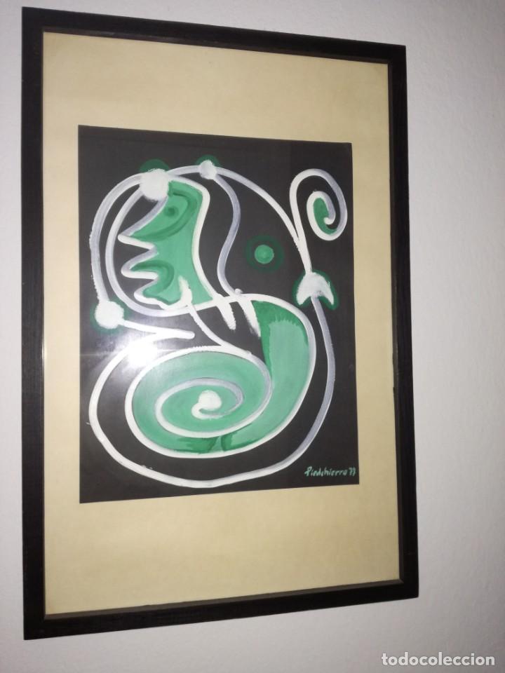 PINTURA ORIGINAL DE PEDRODELHIERRO (Arte - Arte Religioso - Pintura Religiosa - Otros)
