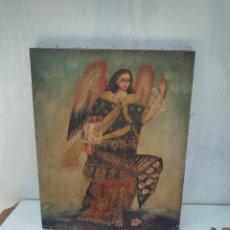 Arte: VIEJA PINTURA RELIGIOSA SAN BLAS OLEO. Lote 155482649