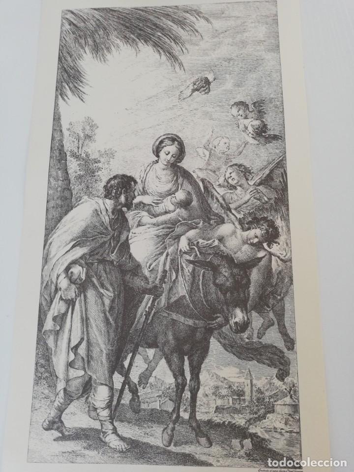 REPRODUCCIÓN GRABADO - ENGRAVING REPRODUCTION : HUIDA A EGIPTO. BAYEU FRANCISC (Arte - Arte Religioso - Grabados)