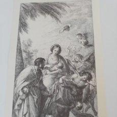 Arte: REPRODUCCIÓN GRABADO - ENGRAVING REPRODUCTION : HUIDA A EGIPTO. BAYEU FRANCISC. Lote 155491814