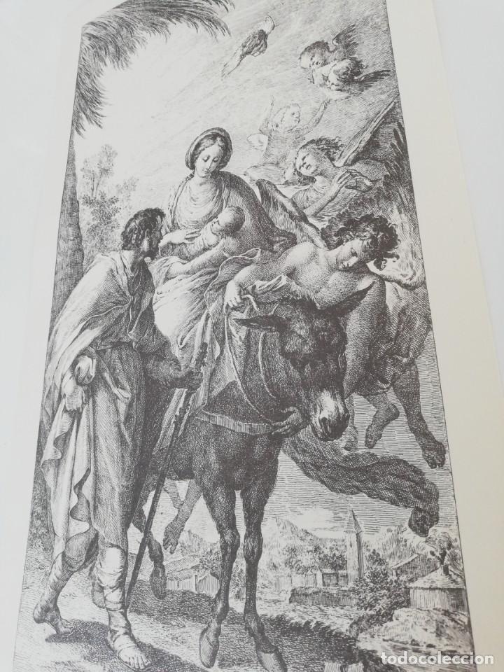 Arte: Reproducción Grabado - Engraving Reproduction : HUIDA A EGIPTO. BAYEU Francisc - Foto 2 - 155491814