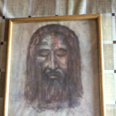 Arte: DIBUJO JESUCRISTO. 24 X 30 CM. Lote 155495978