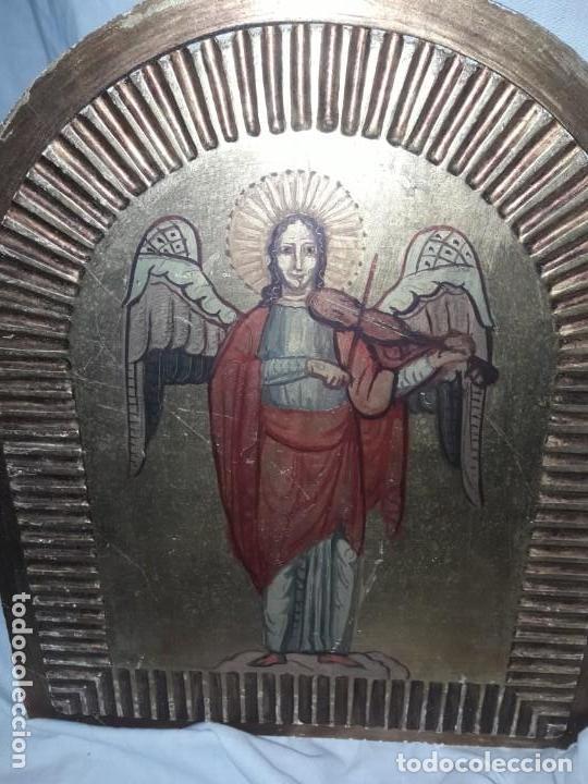Arte: Ángeles músicos estilo gótico - Foto 4 - 155557854