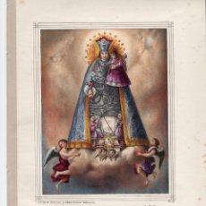 Arte: LITOGRAFIA S.XIX - NUESTRA SEÑORA DE LOS DESAMPARADOS - DE ANTONIO PASCUAL Y ABAD. EDITOR VALENCIA. Lote 155695862