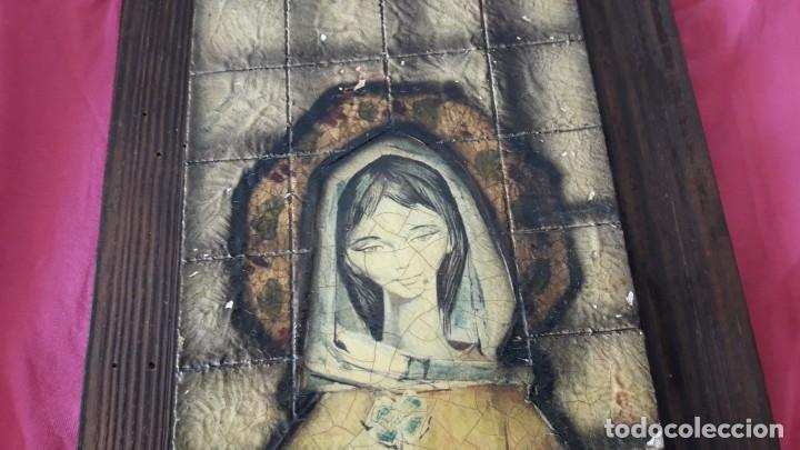 Arte: REPRESENTACIÓN RÚSTICA DE LA VIRGEN NIÑA DE PIFARRÉ. - Foto 4 - 155860958