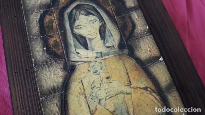 Arte: REPRESENTACIÓN RÚSTICA DE LA VIRGEN NIÑA DE PIFARRÉ. - Foto 7 - 155860958