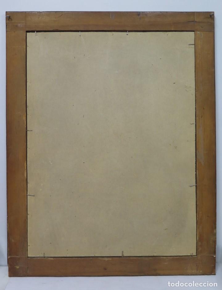 Arte: PRECIOSA DOLOROSA. OLEO S/ LIENZO. SIGLO XVIII. MARCO ANTIGUO - Foto 15 - 155924938