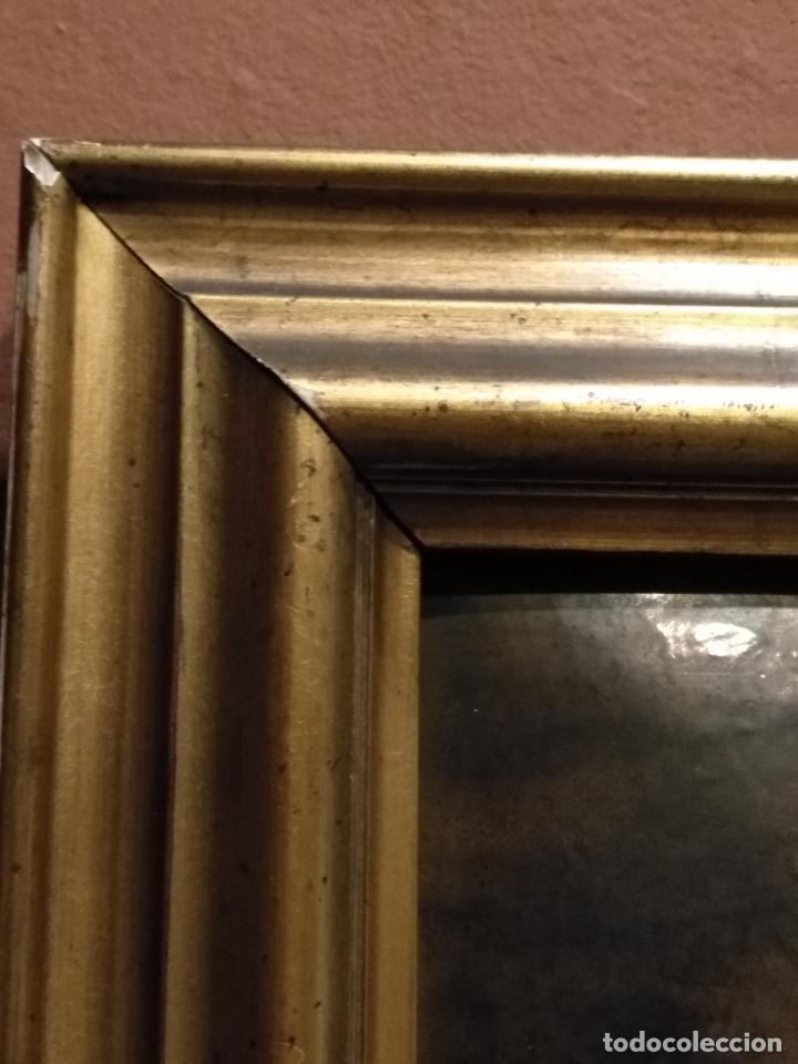 Arte: Descendimiento de LA CRUZ Cristo cobre O METAL convexo Esmalte Firmado: 48.5X33.5 cm marco madera - Foto 17 - 155977026