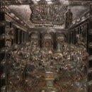 Arte: GRAN ICONO BIZANTINO EN PLATA REPUJADA DE 950. 27,5 CM. X 21,5 CM.. Lote 108429307
