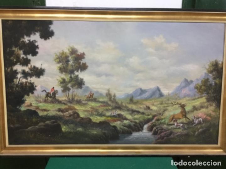 CUADRO ÓLEO AÑOS 50 (Arte - Arte Religioso - Pintura Religiosa - Oleo)