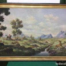 Arte: CUADRO ÓLEO AÑOS 50. Lote 156197434