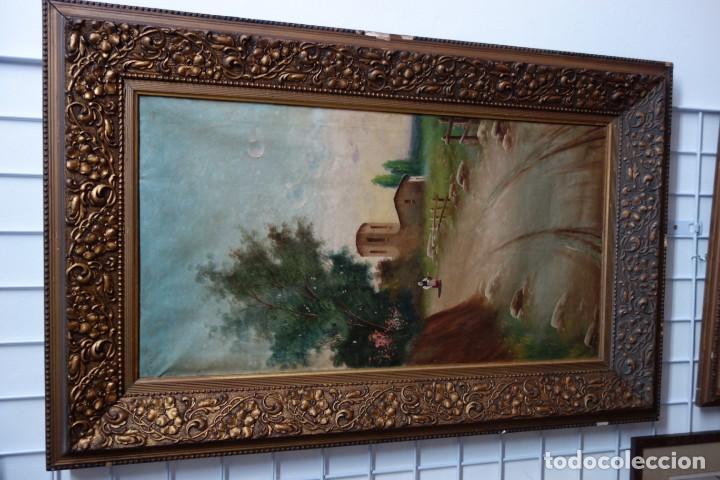 CUADRO OLEO SOBRE LIENZO FIRMADO ROCA DE PRINCIPIOS DEL SIGLO XX (Arte - Arte Religioso - Pintura Religiosa - Oleo)