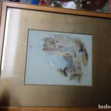 Arte: CUADRO DE OLEO SOBRE TABLA DE ORIGEN INGLES DE MEDIADOS DEL SIGLO XIX. Lote 156268130