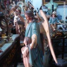 Arte: ANGEL CUSTODIO DE ESTUCO DE OLOT.. Lote 156452726