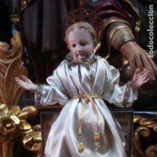 Arte: NIÑO JESÚS CAP I POTA PARA VIRGEN. Lote 156453118