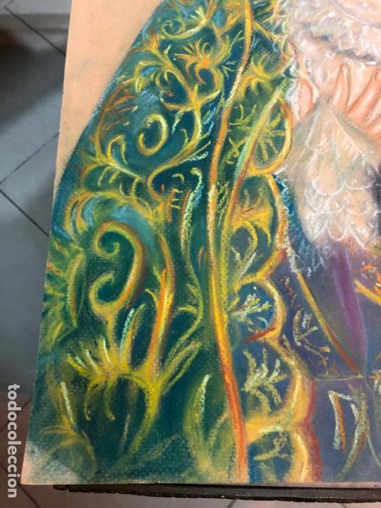 Arte: PINTURA SOBRE PAPEL VIRGEN CONCEPCION - SEMANA SANTA DE SEVILLA - MEDIDA 65X50 CM - RELIGIOSO - Foto 4 - 156513974
