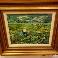Arte: CUADRO OLEO SOBRE TABLA DEL PINTOR AMADOR PUCHE. Lote 156546990