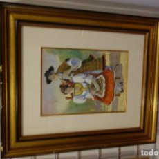 Arte: CUADRO WACHE PINTOR MURCIANO PINA NORTES. Lote 156547662