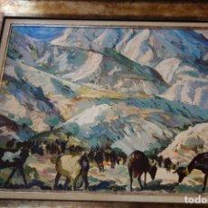 Arte: CUADRO OLEO SOBRE TABLA DEL PINTOR MURCIANO AMADOR PUCHE. Lote 156548998