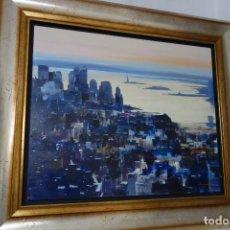 Arte: CUADRO OLEO SOBRE TABLA DEL PINTOR TOVAS. Lote 156549834