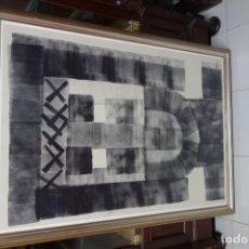 Arte: CUADRO TINTA CON RODILLO PINTOR MURCIANO PARRAGA. Lote 156551574