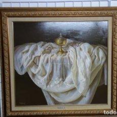 Arte: CUADRO OLEO SOBRE TABLA PINTOR VALENCIANO ANTONIO MORANO LÓPEZ. Lote 156552090