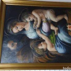 Arte: CUADRO OLEO SOBRE LIENZO PINTOR MURCIANO FERNANDO C. SEIQUER. Lote 156552354
