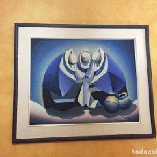 Arte: ÓLEO PORTOCARRERO. Lote 156646678