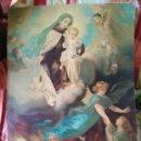 Arte: ANTIGUA LÁMINA RELIGIOSA EN CARTON. Lote 156838178
