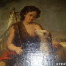 Arte: SAN JUANITO.OLEO SOBRE LIENZO. SIGLO XVIII. . Lote 156901854