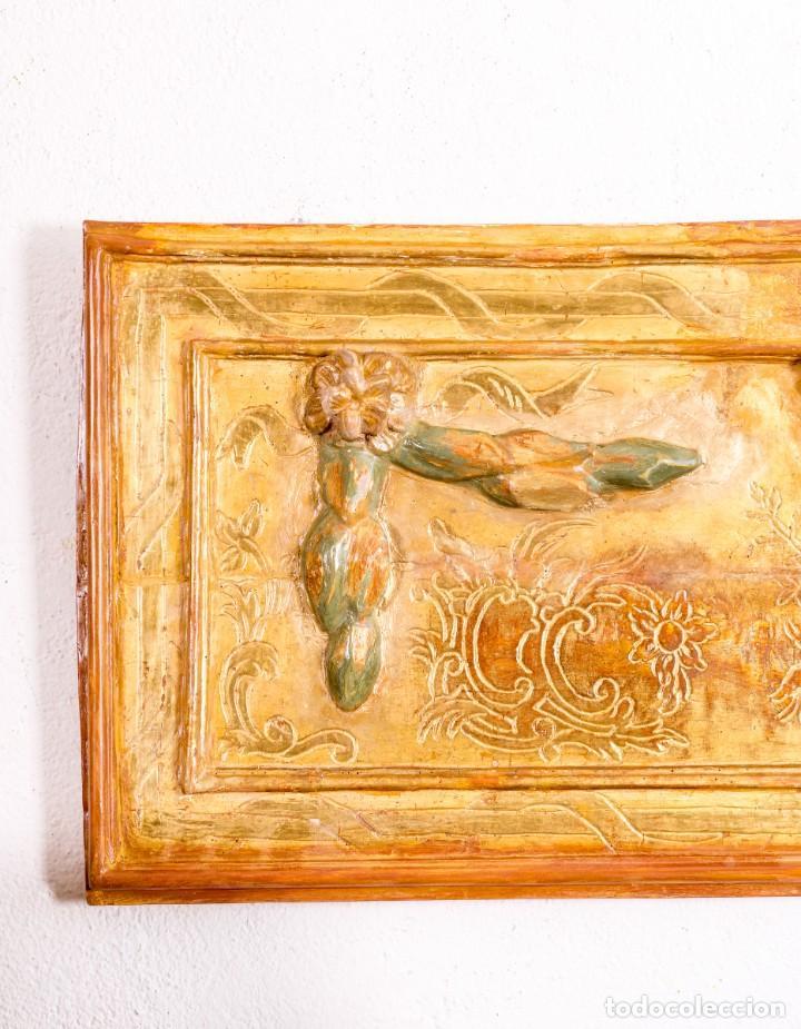 Arte: Fragmento De Retablo XVIII - Foto 2 - 157002910