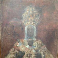 Arte: OLEO VIRGEN DEL SAGRARIO DE TOLEDO SIGLO XVII. Lote 157104674