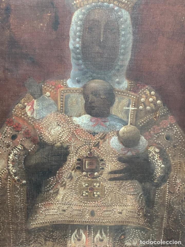 Arte: OLEO VIRGEN DEL SAGRARIO DE TOLEDO SIGLO XVII - Foto 4 - 157104674