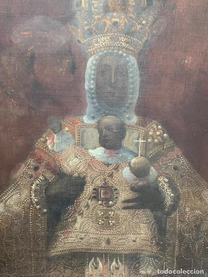 Arte: OLEO VIRGEN DEL SAGRARIO DE TOLEDO SIGLO XVII - Foto 5 - 157104674