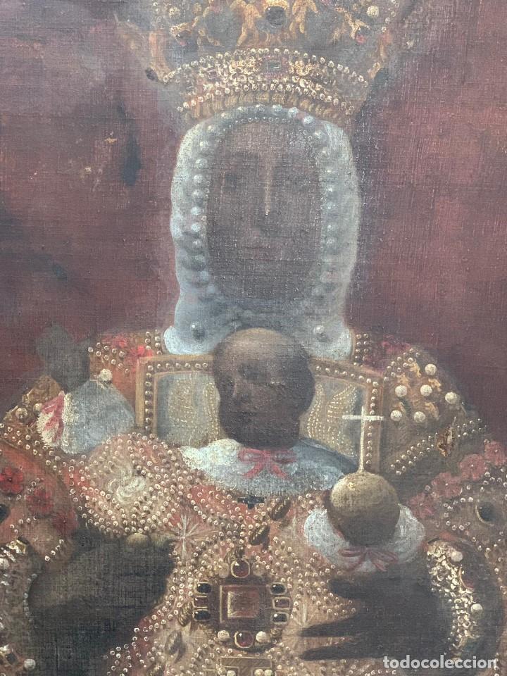 Arte: OLEO VIRGEN DEL SAGRARIO DE TOLEDO SIGLO XVII - Foto 6 - 157104674